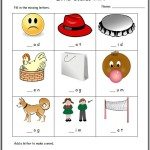 cvc beginning sound sheet