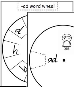 CVC wordwheels