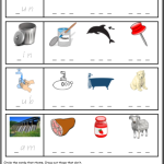 phonics worksheets Rhyme Sheet