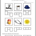 image relating to Elkonin Boxes Printable called CVC Worksheets Printable Effort and hard work Sheets KeepKidsReading