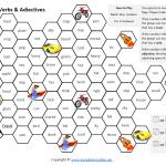 nouns verbs adjectives game