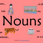 nouns poster print