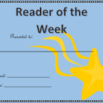 reader of the week awards