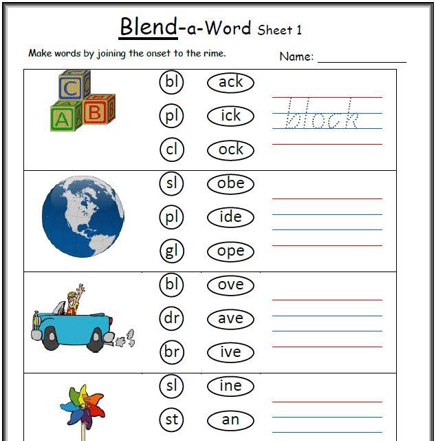 All Worksheets free vowel digraph worksheets : Blends and Digraphs- Activities, Worksheets- KeepKidsReading